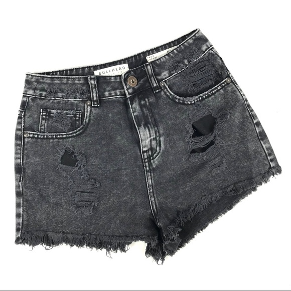 Bullhead Pants - 🍷3/$17 Bullhead distressed mom shorts high rise